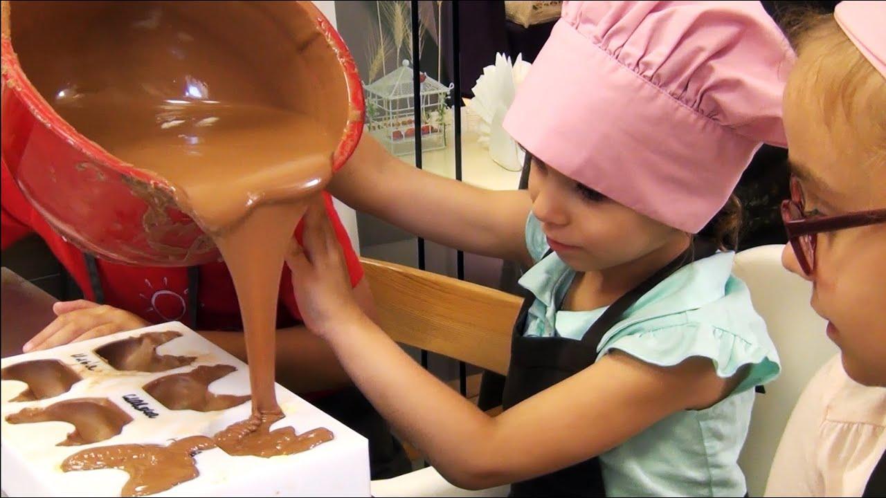 Шоколадный мастер-класс своими руками 525