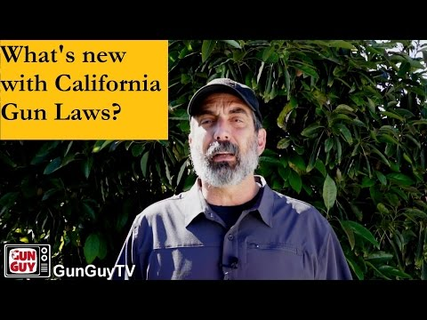 What's New With California Gun Control Laws?