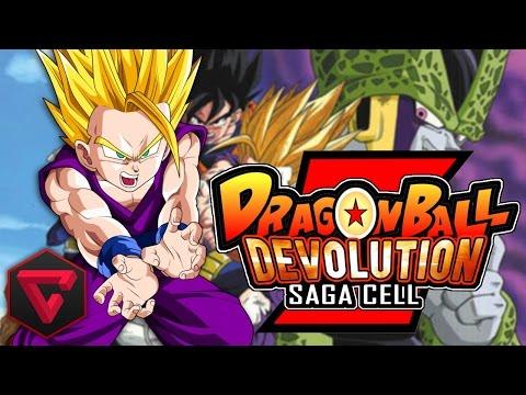 Dragon Ball Z Devolution: Saga Cell video