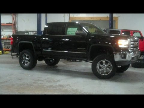 First Look: Lifted 2014 GMC Sierra