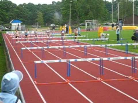 Kairit Olenko 100m Hurdles World Deaf Record 14,39s