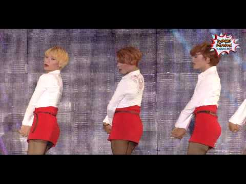 AOA-Short Skirts(짧은치마) covered by Poison from Indonesia at K-POP Festival in Incheon 2014