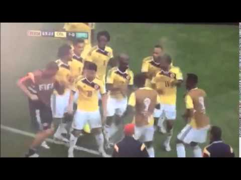 Columbia dance World cup 2014 - Salsa remix