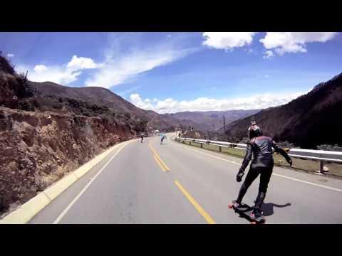 Copa de los Andes - Tarma 2011 - Longboard Colombia Edition