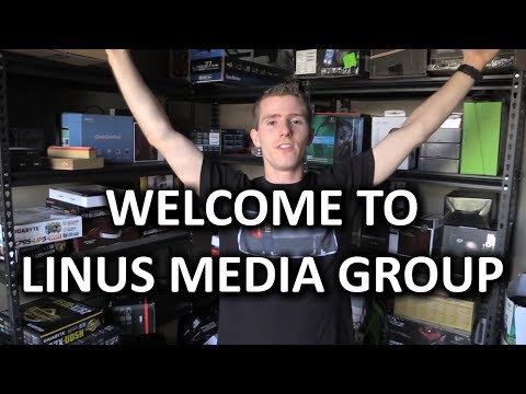 The ULTIMATE Linus Tech Tips Studio Tour!