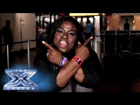 Yes, I Made It! Panda Ross - THE X FACTOR USA 2013