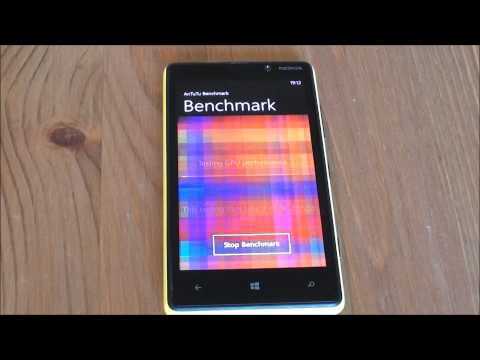 Nokia Lumia 820 Benchmark Speed Test (Antutu)