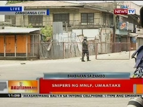 Bt: Snippers Ng Mnlf Sa Zamboanga, Umaatake video