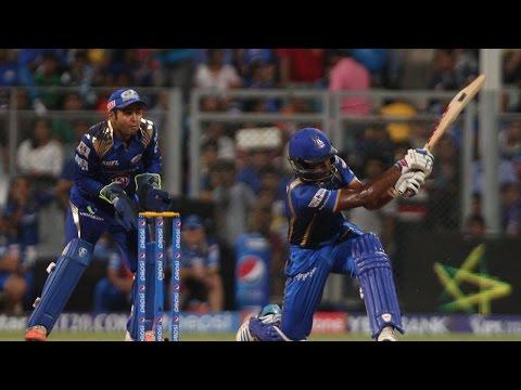 IPL 8: Sanju Samson's 46-ball 76 went in vain as MI beat RR