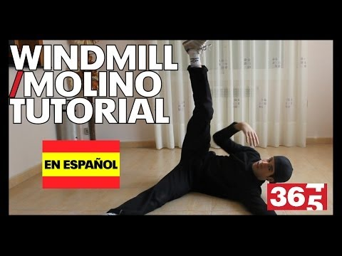 Tutorial - Windmill   Molino (break Dance) video