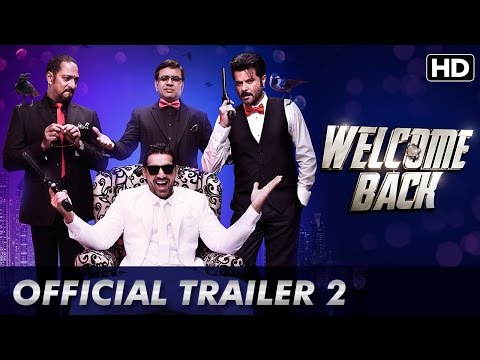 Welcome Back (Official Trailer 2 With Subtitles) | Anil Kapoor, Nana Patekar, John Abraham
