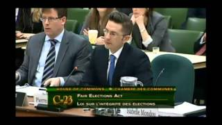 Committee queries @PierrePoilievre @TomLukiwski re #FairElectionsAct #cdnpoli 13Feb2014 Part 4