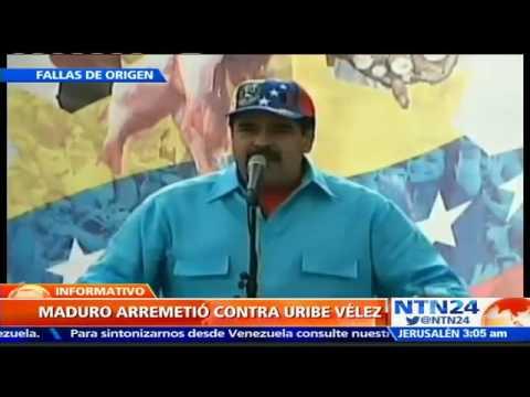 Maduro anuncia un ejercicio militar el sábado 21 de mayo tras declaraciones de Uribe sobre Vzla