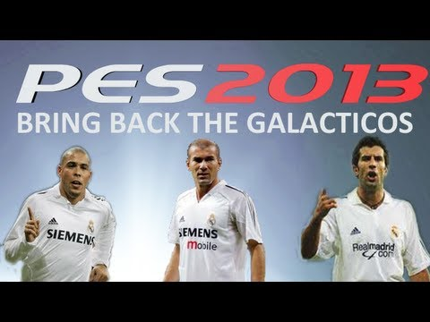 PES 2013 ML Bring back the GALACTICOS ep.1