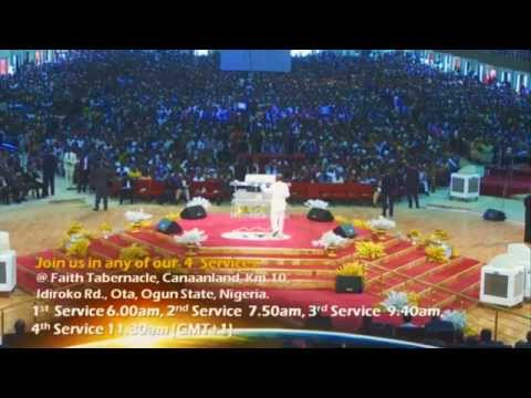 Bishop David Oyedepo-healing Banquet & Anointing Service-july 20th- 2014 video