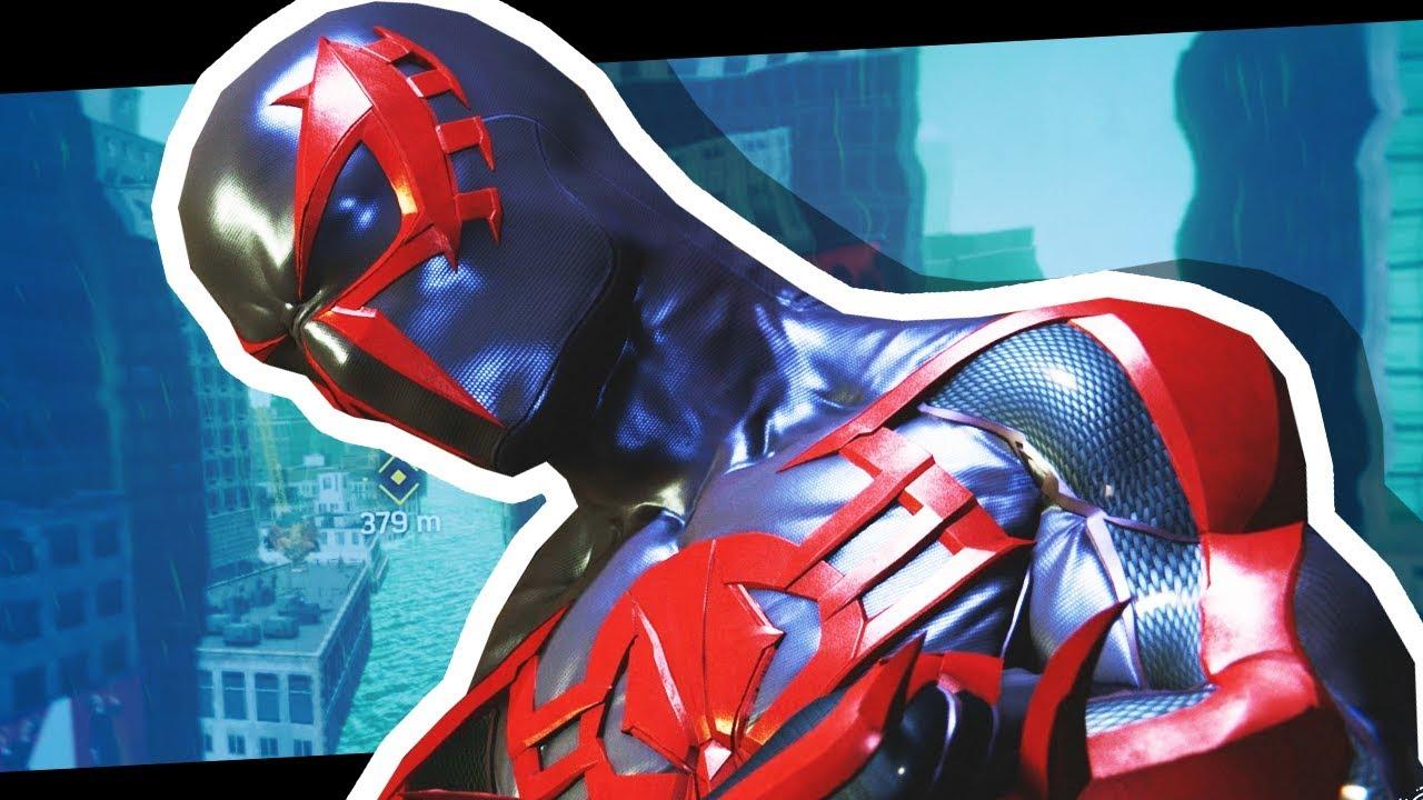 AMAZING new Spider-Man Suit! (Spiderman PS4 #8)