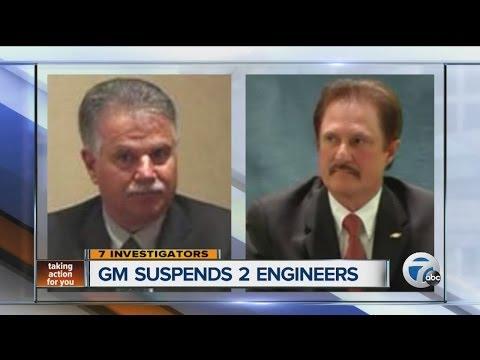 General Motors suspends two engineers