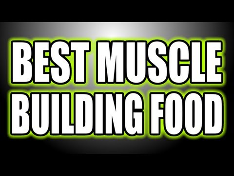 BEST MUSCLE BUILDING FOOD - Bodybuilding Grocery Shopping
