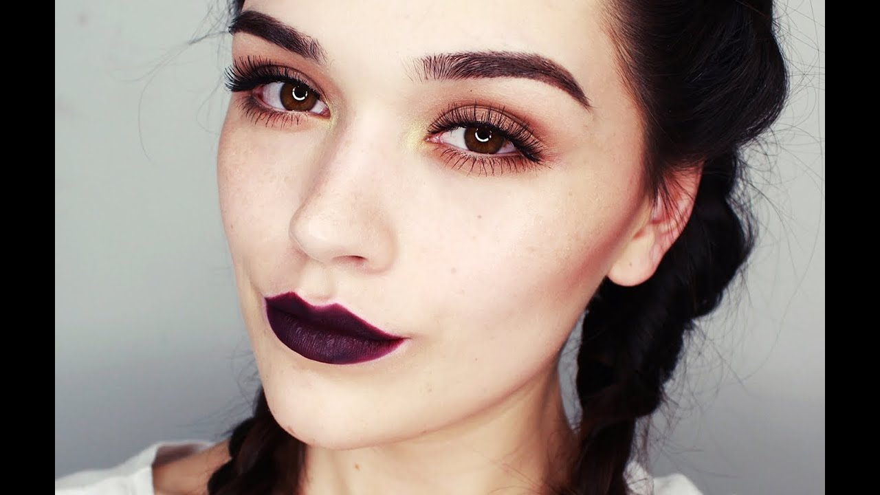 I Dark Lips Makeup Tutorial Youtube