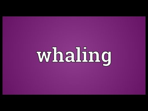 Whaling Meaning