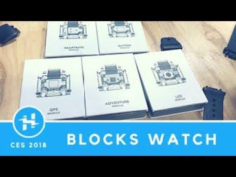 Blocks Modular Smartwatch // CES 2018