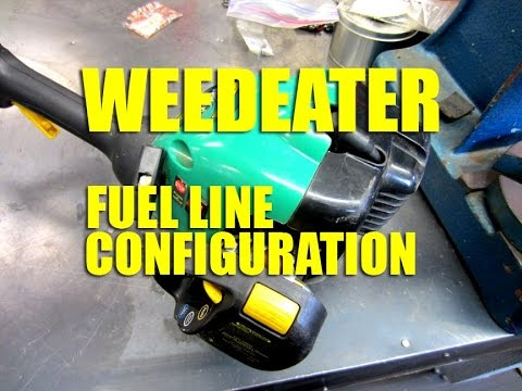 Weedeater Fuel Line Configuration