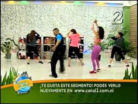 Maritza Rivas Presentadora Canal 2 Nicaragua Ricos Movimientos