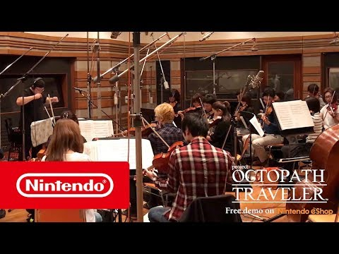 De muziek uit project OCTOPATH TRAVELER (Nintendo Switch)
