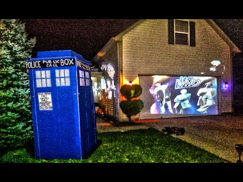 doctor who house halloween 2013 scare prank youtube. Black Bedroom Furniture Sets. Home Design Ideas