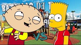 Stewie VS Bart Batallas de Rap Friki Legendarias jexer