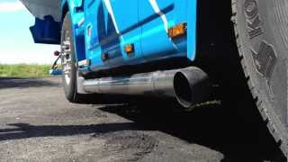Scania 164 480  V8 exhaust SOUND!!!