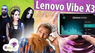 Обзор Lenovo Vibe X3. Смартфон-кинотеатр, смартфон-стереоситема.
