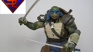 Teenage Mutant Ninja Turtles 2014 Threezero Leonardo 1/6 Scale Collectible Movie Figure Review