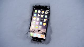 iPhone 6 Plus Buried in Snow - Will it Survive?