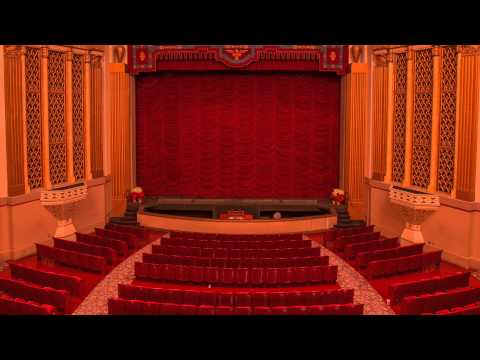 Stanford Theatre organist (February 1, 2015)