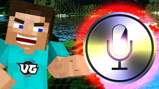 OFFICER SIRI Vs. SHY GIRL in Minecraft! {Minecraft Voice Trolling