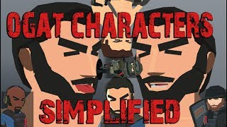 Of Guards And Thieves characters simplified