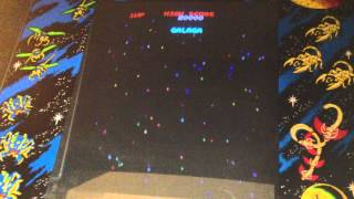 Original Full Size Galaga Arcade machine!