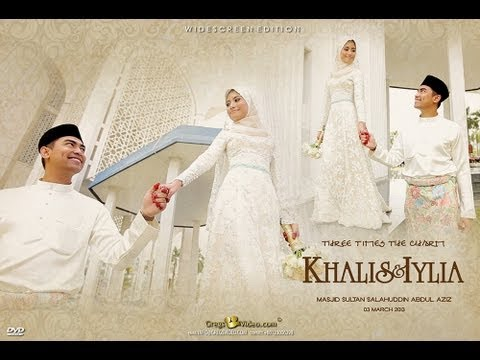 MALAYSIAN WEDDING #Wedding Reception #Malay Wedding Khalis & Iylia