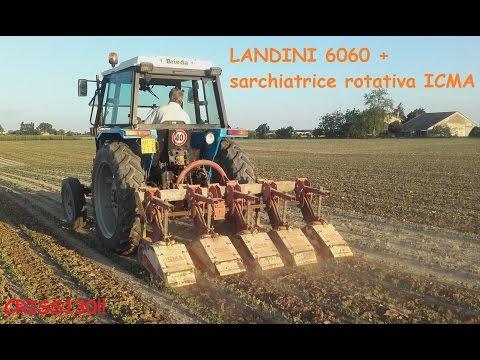 LANDINI 6060 + sarchiatrice rotativa ICMA- by CRISS130!!