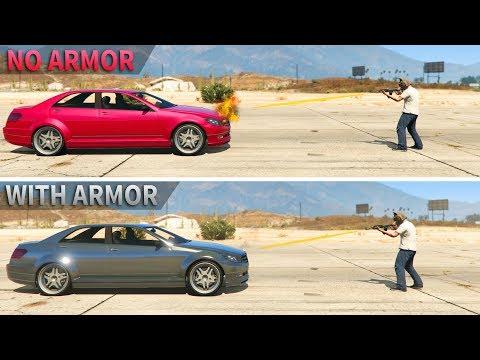 GTA V - Is car Armor Upgrade worth it?