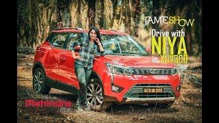 Drive with actress NIYA   Jamesh Show   Mahindra XUV300
