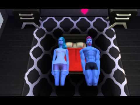 Será así lo que sucede bajo las sábanas en Los Sims 4?