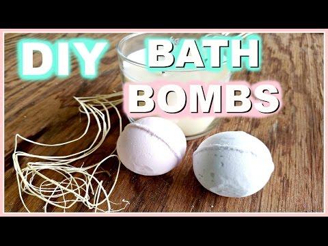 Como hacer BATH BOMBS o Bombas de Baño ~ DIY ♦ consaboraKaFé