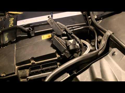 Mercedes C230 Mass Air Flow Removal (MAF) P0170 (M271)