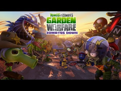 Plants vs. Zombies Garden Warfare Zomboss Down Trailer