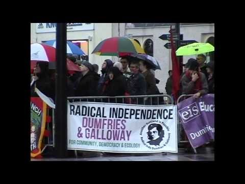 DEMONSTRATIONS HELD IN DUMFRIES.