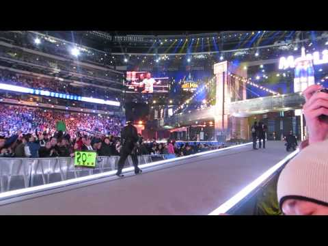Wwe Wrestlemania 29 - Cm Punk And The Undertaker Entrance! video