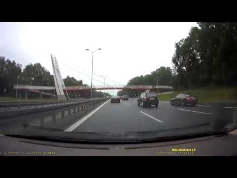 Wymuszenie Na DK86 (węzeł Z A4 W Katowicach)