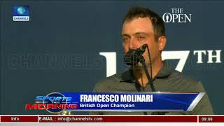 Molinari Becomes First Italian To Win British Open |Sports This Morning|